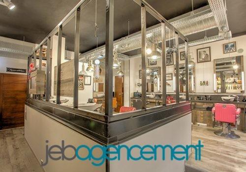 L'Atelier Vintage – Aménagement Salon De Coiffure / Barbier Et Esthétisme