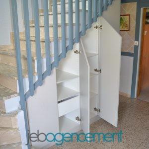 Rangement Sous Escalier Ouvert